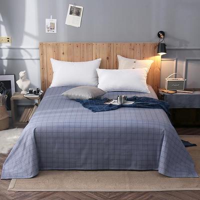 2018新款全棉床单 160*245cm 曼格尼