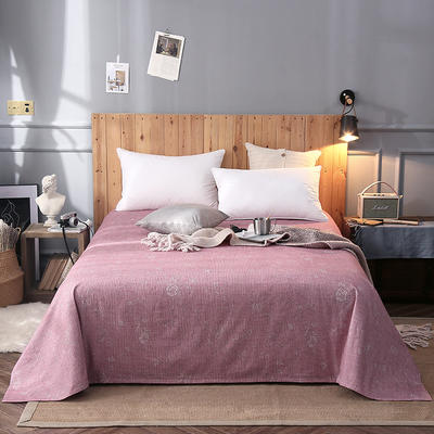 2018新款全棉床单 160*245cm 早安