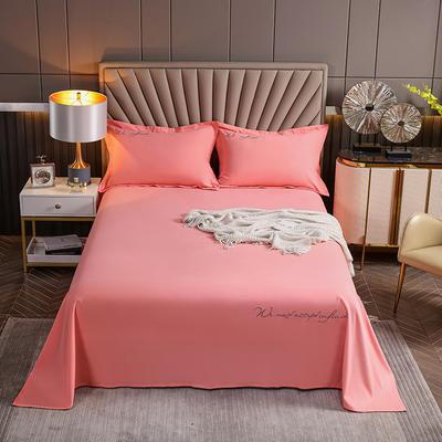2021新款全棉磨毛单品床单 200x250cm 胭脂红