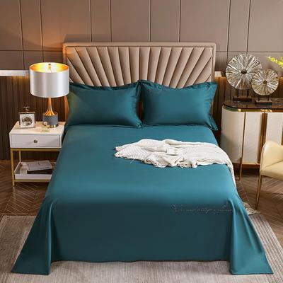 2021新款全棉磨毛单品床单 200x250cm 海藻绿