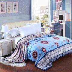 【坦客毯业】雪貂绒毛毯系列 1.2*2.0米 英伦风