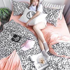 坦客毯业  棉加绒四件套 1.8m(6英尺)床 狂野