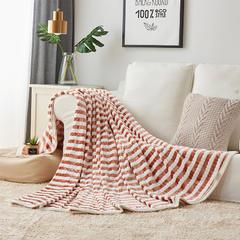 阳离子贵妃毯 120cmX200cm 褐色