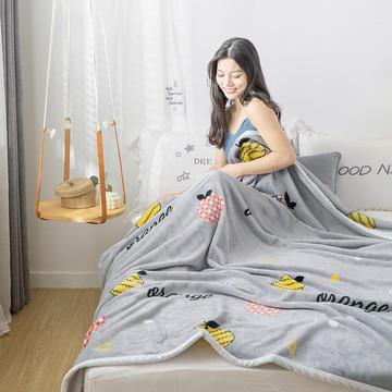 2019新款云貂绒毯
