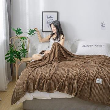 2019新款270g 克重宝宝绒毛毯