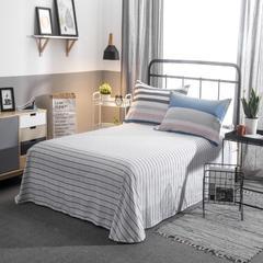 佘舍家居 全棉纯棉三四件套 单床单+2枕套三件套 北欧宜家简约风活性 230cmx250cm床单×1+枕套×2 橙色