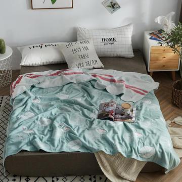2020新款五层毛巾被纯棉薄款夏被单人双人纱布被子毛巾盖毯空调被夏季午睡全棉空调毯