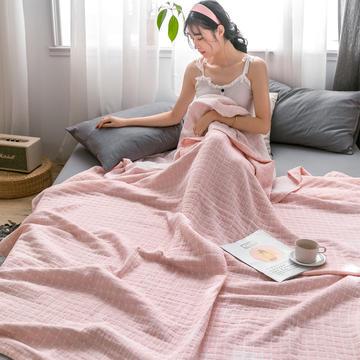 2020年新款加厚水洗棉全棉纱布毛巾被