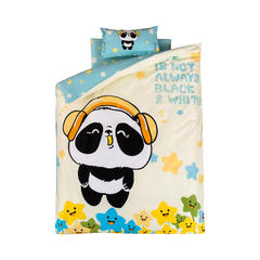 婴儿多件套(羽丝绒六件套) 羽丝绒六件套 酷乐熊猫
