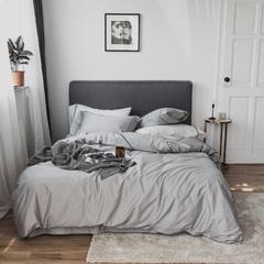 2018新款-60长绒棉刺绣四件套 1.2m床/床单款 香氛;绅士灰
