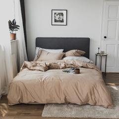 2018新款-60长绒棉刺绣四件套 1.2m床/床单款 香氛;香槟金