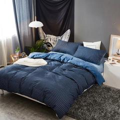 秋冬保暖棉加绒四件套1.5m/1.8m双人被套床单四件套(总) 标准(1.5-1.8m)床 正