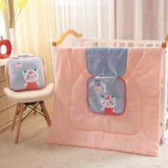 卡通抱枕被 3D立体卡通多功能两用汽车靠垫被批发 40X40cm 展开110*150 小兔(灰)