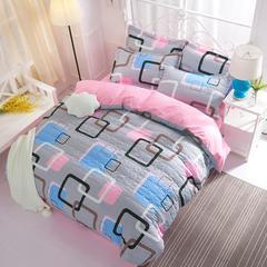 芦荟棉夹棉加厚床上用品四件套 南通床品批发 一件代发 1.5m 彩云阁-夹棉