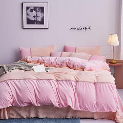 2019新款法莱绒四件套 1.8m(6英尺)床单款 1