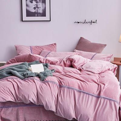 2019新款法莱绒四件套 1.8m(6英尺)床单款 5