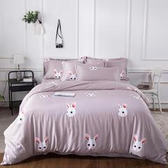 2018新款天丝四件套 标准(1.5m-1.8m床) 兔精灵