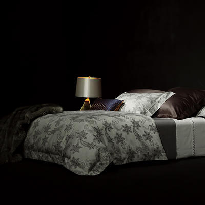 2018Spades A 秋冬新品80支美棉色织提花系列 1.5-1.8m(床) 茗