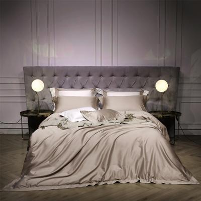 新款140支纯色四件套 1.5m(5英尺)床 乔治 卡其