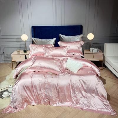 新品-高精密提花四件套 1.5m(5英尺)床 琥珀