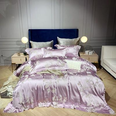新品-高精密提花四件套 1.5m(5英尺)床 依韵
