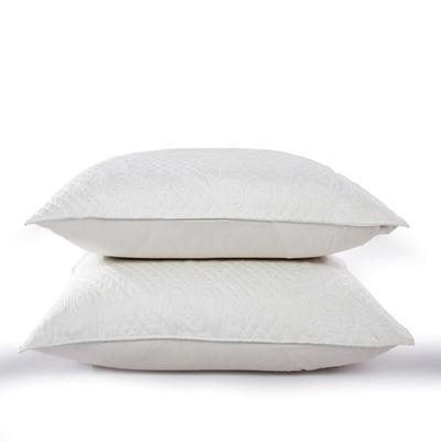新款绗缝靠垫 60*80cm/含芯/一对 绗缝靠垫白色