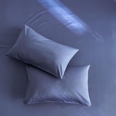 2020新款60s纯色单品枕套 48cmX74cm/对 宝蓝