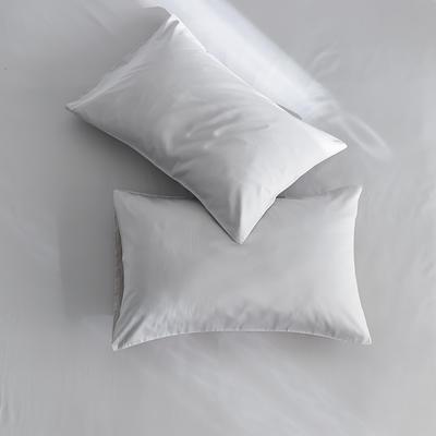 2020新款60s纯色单品枕套 48cmX74cm/对 浅灰
