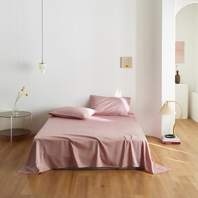 2020新款60纯色单品床单 200cmx230cm 豆沙