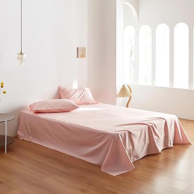 2020新款60纯色单品床单 245cmx270cm 裸粉