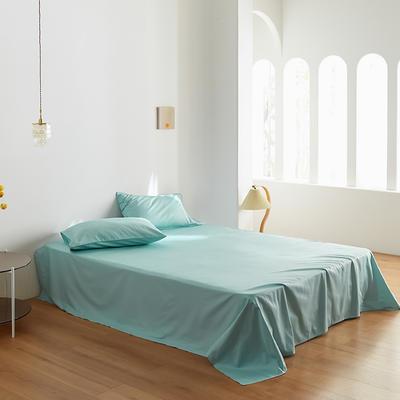 2020新款60纯色单品床单 245cmx270cm 天蓝