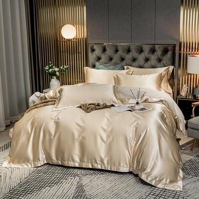 2020新款高精密绣花系列莫莉四件套图片2 1.8m床单款四件套 莫莉 香槟