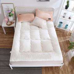 2018羊羔绒床垫 90x200cm 白色