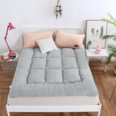 2018羊羔绒床垫 90x200cm 灰色