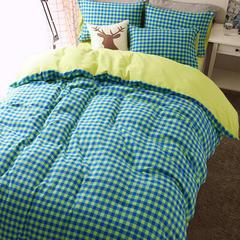 彩窝窝磨毛瑞典系列套件(色织磨毛) 1.2m床笠款 安东尼