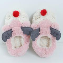 彩窝窝家纺拖鞋H1540红鼻鹿 S(35-36) 粉色