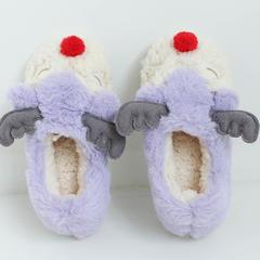 彩窝窝家纺拖鞋H1540红鼻鹿 S(35-36) 香芋紫