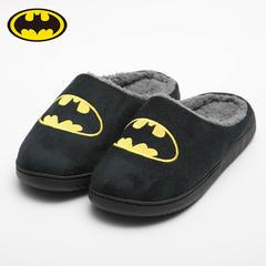 彩窝窝家纺H1746 英雄系列哈拖鞋 M(39-40) 蝙蝠侠BATMAN(1)