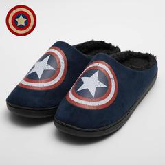 彩窝窝家纺H1746 英雄系列哈拖鞋 S(37-38) 美国队长CAPTAIN AMERICA
