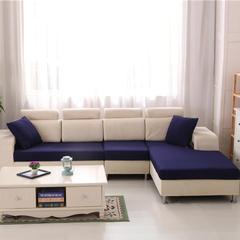 床笠式沙发坐垫套-12色 70*宽80*高20cm(23/平方) 宝蓝