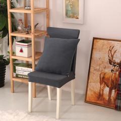 弹力连体椅套12色 灰色