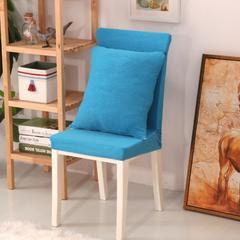 弹力连体椅套12色 天蓝色