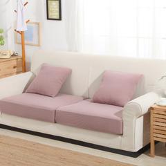 条纹针织床笠式沙发套 25元/平方 胭脂红