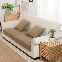 条纹针织床笠式沙发套 25元/平方 太妃咖