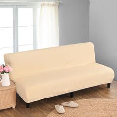 宏雅家纺针织无扶手沙发床套 浪漫黄