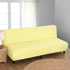 宏雅家纺针织无扶手沙发床套 魅力黄