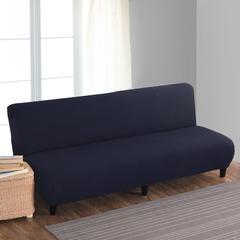 宏雅家纺针织无扶手沙发床套 牛仔蓝