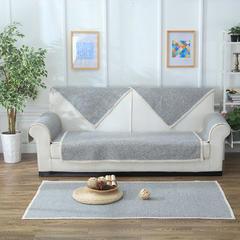 棉线编织沙发垫 45*45cm 灰色空间