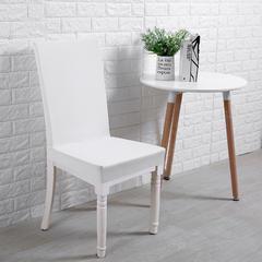 针织细条纹椅套 贵族白