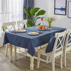 2018新款-粗麻桌布系列-9色 45*45cm抱枕套 孔雀蓝